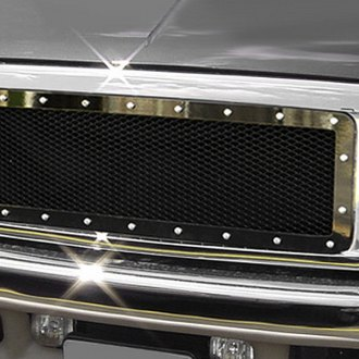Carriage Works® - 3-Pc Heavy Duty Series Studded Mesh Grille