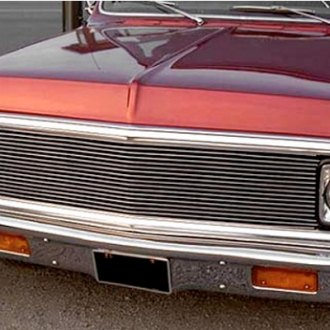 Carriage Works® - 1-Pc Polished Billet Main Grille