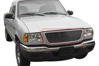 Carriage Works® 41222 - Polished Billet Main Grille