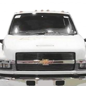 Carriage Works® - 2-Pc Black Billet Main Grille
