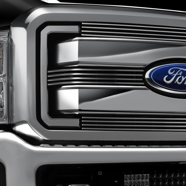 Carriage Works® - Monster Bar™ Brushed Billet Main Grille