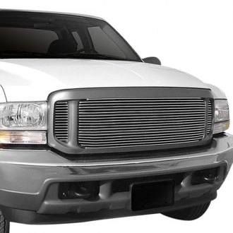 Carriage Works® - 3-Pc Brushed Billet Grille