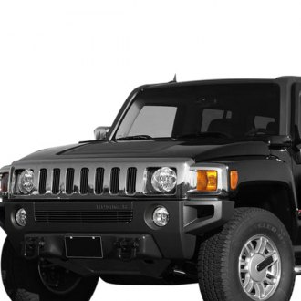 Carriage Works® - Black Billet Bumper Grille