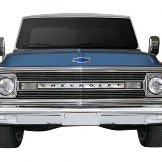 Carriage Works® - 2-Pc Polished Billet Main Grille