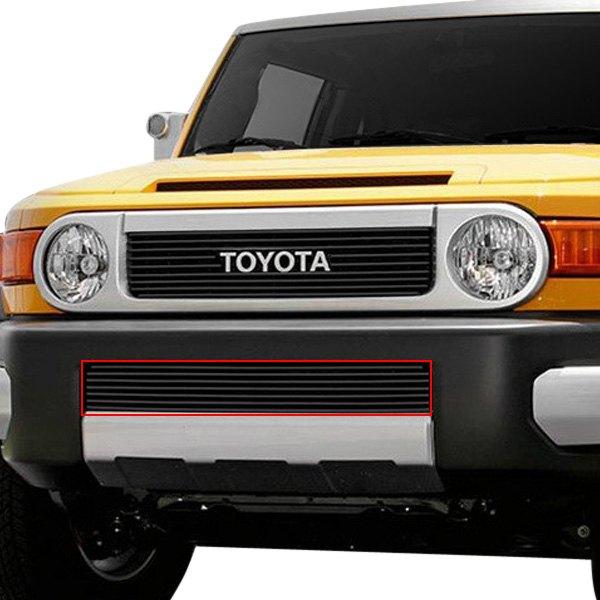 Carriage works 43363 black billet bumper grille for Garage toyota valence
