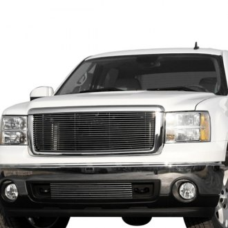Carriage Works® - InVisi-Lok™ Series Brushed Billet Bumper Grille