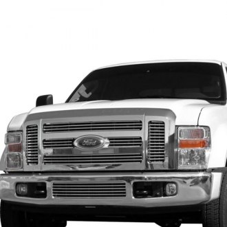 Carriage Works® - 1-Pc Polished Billet Center Bumper Grille