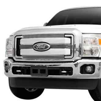 Carriage Works® - 4-Pc Monster Bar™ Series Brushed Billet Grille
