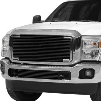 Carriage Works® - Monster Bar™ Series Black Billet Grille