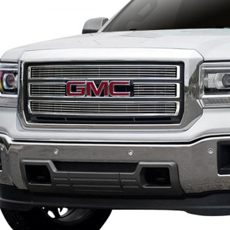 Carriage Works® - 4-Pc Brushed Billet Grille
