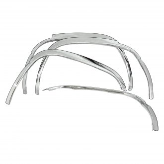 Carrichs® - Front and Rear Polished Stainless Steel True Fender Trim