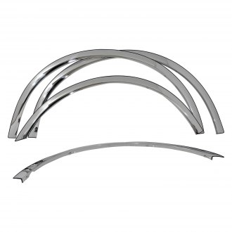 Carrichs® - Polished Front and Rear Fender Trim