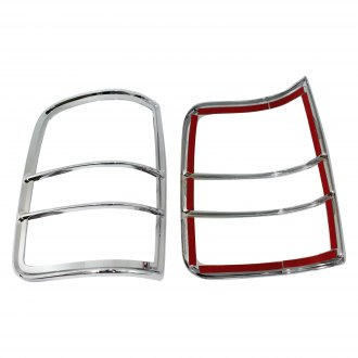Carrichs® - Chrome Tail Light Bezels