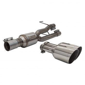 Carven Exhaust® - Competitor Series Stainless Steel Axle-Back Exhaust System with Dual Rear Exit