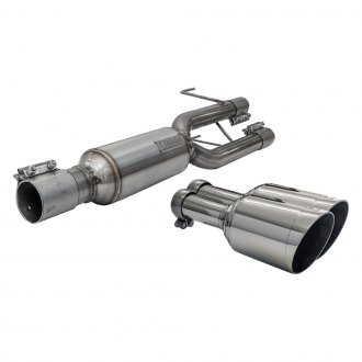 Carven Exhaust® - Progressive Series Stainless Steel Axle-Back Exhaust System with Dual Rear Exit