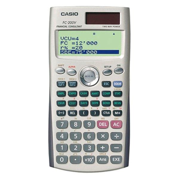 Casio FcVSIh  Fc Financial Calculator
