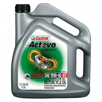 Castrol® - SAE 10W-40 Actevo X-Tra 4T Engine Oil, 1 Gallon Can