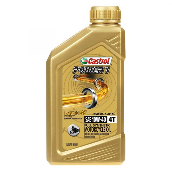 Castrol 06112 Sae 10w 40 Power Rs Racing 4t Engine Oil