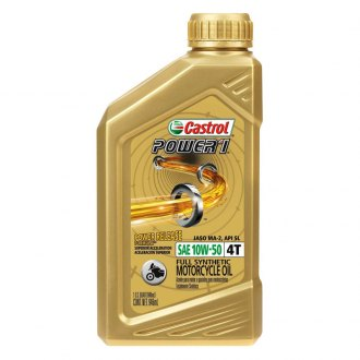 Castrol® - SAE 10W-50 1 qt. Power1 4T Synthetic Motor Oil