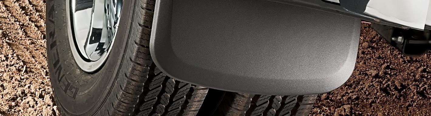 300 Industries Universal Mud Flap Splash Guard Mirrored Stainless Steel Weights for Semi Trailer Trucks 3 x 18-2 Piece Set