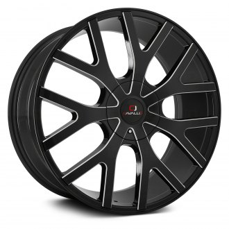 CAVALLO® - CLV-15 Gloss Black with Milled Accents