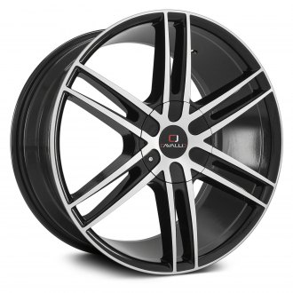 CAVALLO® - CLV-20 Gloss Black with Machined Face