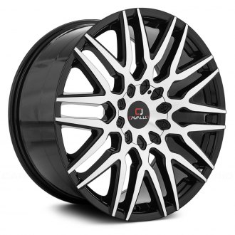 CAVALLO® - CLV-24 Gloss Black with Machined Face