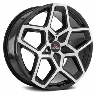 CAVALLO® - CLV-25 Gloss Black with Machined Face