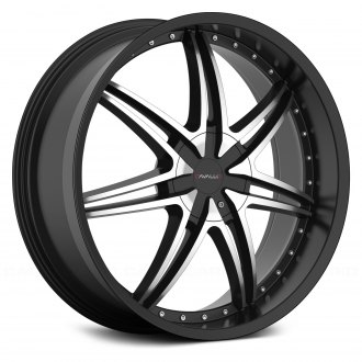 CAVALLO® - CLV-11 Gloss Black with Machined Face
