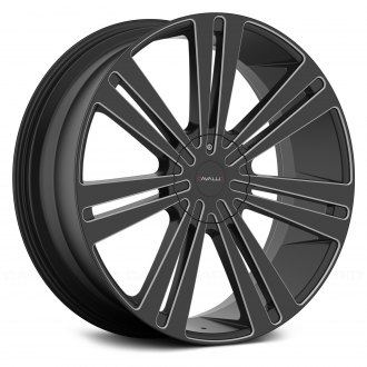 CAVALLO® - CLV-16 Gloss Black with Milled Accents