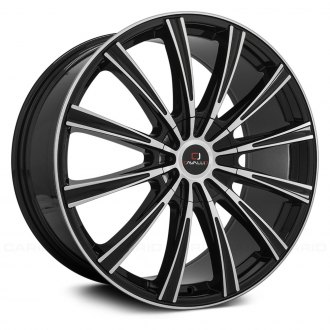 CAVALLO® - CLV-23 Gloss Black with Machined Face
