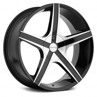 CAVALLO® - CLV-3 Gloss Black with Machined Face