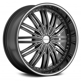 CAVALLO® - CLV-7 Gloss Black with Machined Face