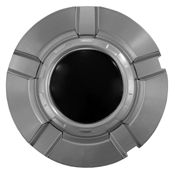 CCI® - Brushed Aluminum Wheel Center Caps