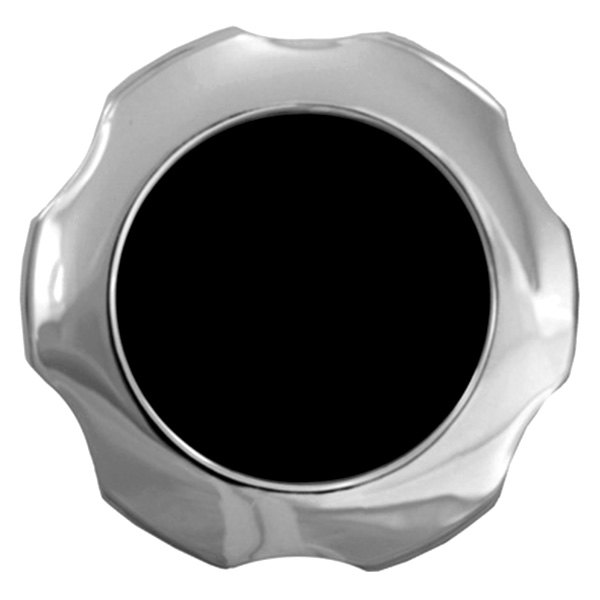 CCI® - Chrome with Black Center Wheel Center Caps
