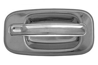 CCI® CCIDH68102B - Chrome Door Handle Covers without Passenger Side Key Hole