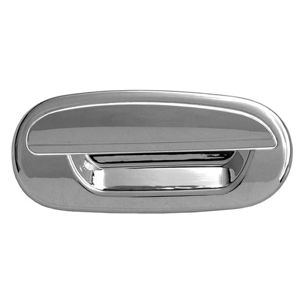 CCI® - Chrome Door Handle Covers Without Passenger Side Key Hole and Key Pad