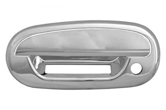 CCI® - Chrome Door Handle Covers With Key Hole and Key Pad