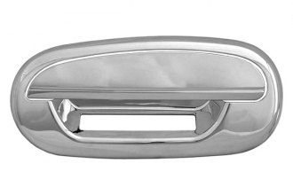 CCI® - Chrome Door Handle Covers With Key Hole and without Key Pad
