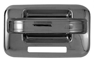 CCI® CCIDH68110A1 - Chrome Door Handle Covers without Passenger Side Key Hole and with Key Pad
