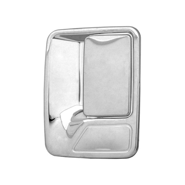 CCI® - Chrome Door Handle Covers Without Passenger Side Key Hole