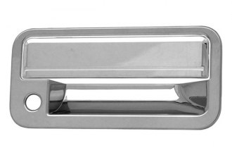 CCI® - Chrome Door Handle Covers with Passenger Side Key Hole