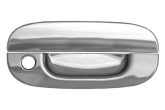 CCI® - Chrome Door Handle Covers With Key Hole
