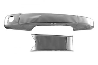 CCI® CCIDH68135B - Chrome Door Handle Covers without Passenger Side Key Hole