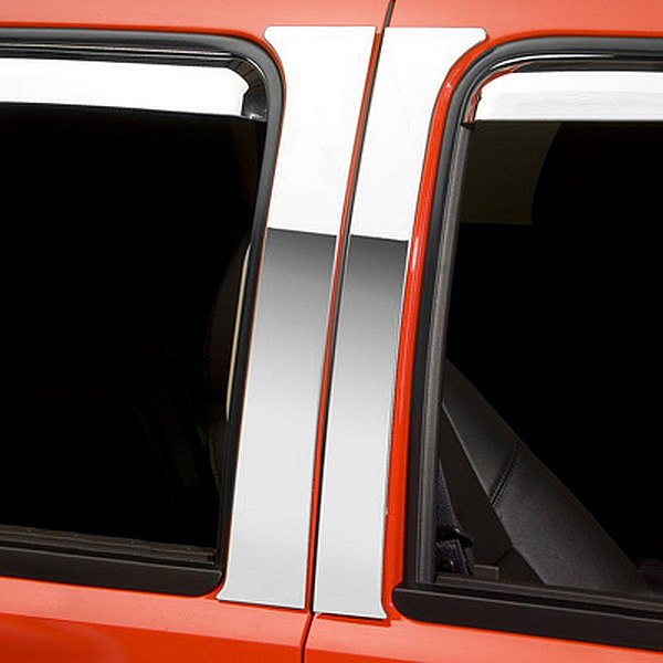 Image may not reflect your exact vehicle!CCI® - Chrome Pillar Post Trim