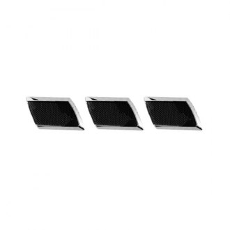 CCI® - Chrome Rectangle Side Vents