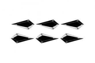 CCI® - Chrome Diamond Side Vents