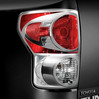 CCI® - Chrome Tail Light Bezels
