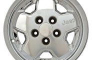 "CCI® - 15"" Remanufactured 5-Spoke Standard Finish Factory Alloy Wheel"
