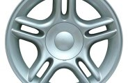"CCI® ALY02105U10 - 17"" Remanufactured 5-Double-Spoke Standard Finish Factory Alloy Wheel"